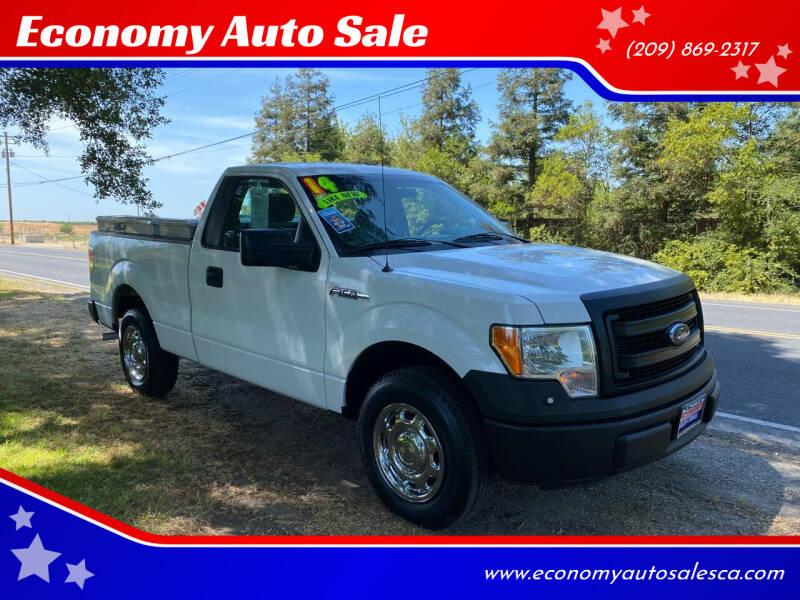 2014 Ford F-150 for sale at Economy Auto Sale in Modesto CA