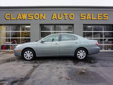 2002 Lexus ES 300 for sale at Clawson Auto Sales in Clawson MI