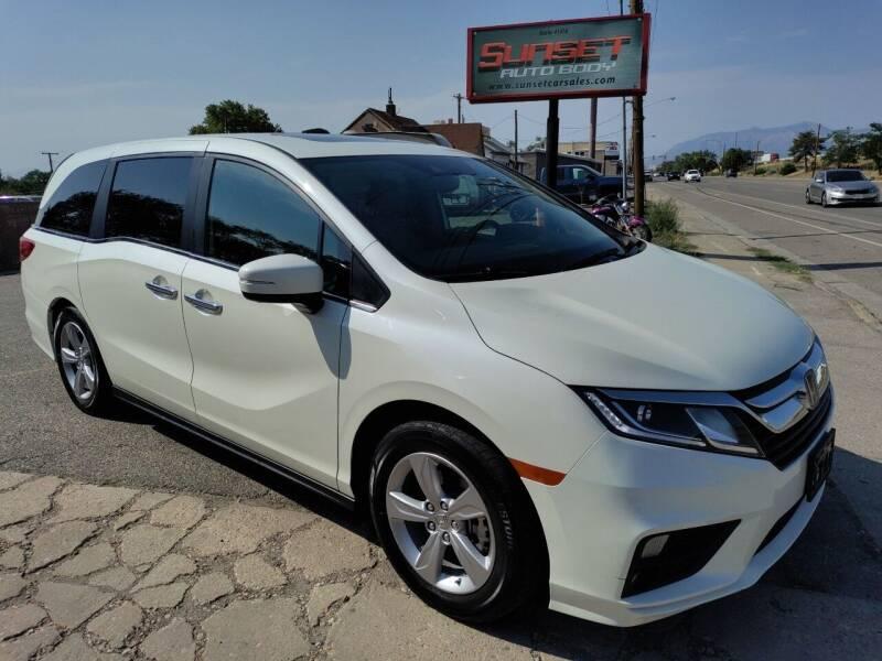 2019 Honda Odyssey for sale at Sunset Auto Body in Sunset UT
