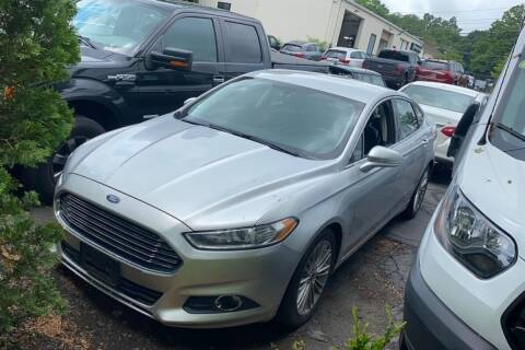 2013 Ford Fusion for sale at TRANS P in East Windsor CT