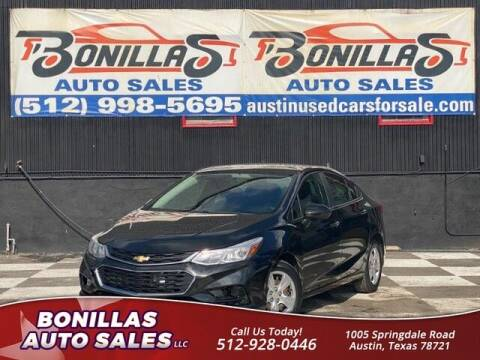 2016 Chevrolet Cruze for sale at Bonillas Auto Sales in Austin TX