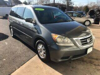 2008 Honda Odyssey for sale at DNS Automotive Inc. in Bergenfield NJ