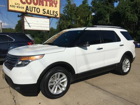 2013 Ford Explorer for sale at Town and Country Auto Sales in Jefferson City MO