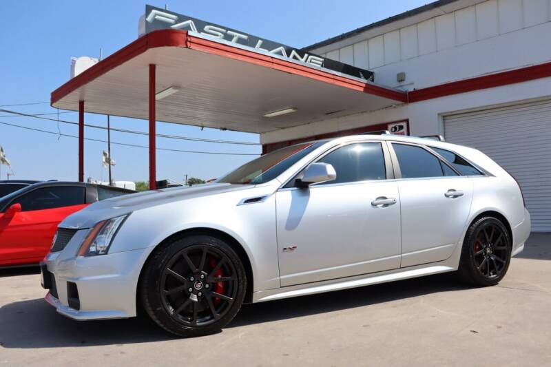 2014 Cadillac CTS-V for sale at FAST LANE AUTO SALES in San Antonio TX