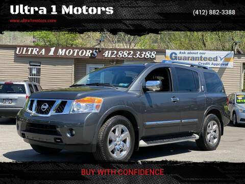 2012 Nissan Armada for sale at Ultra 1 Motors in Pittsburgh PA