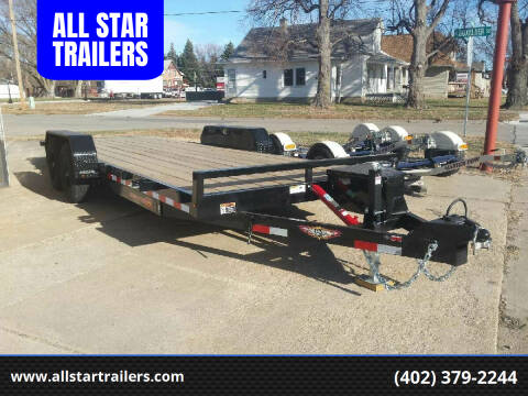 2020 H&H 22 FOOT TILTBED for sale at ALL STAR TRAILERS Flatbeds in , NE