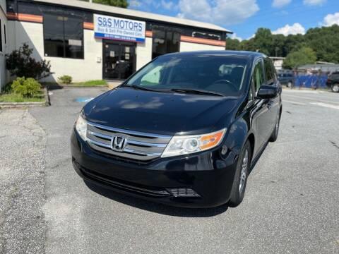 2012 Honda Odyssey for sale at S & S Motors in Marietta GA