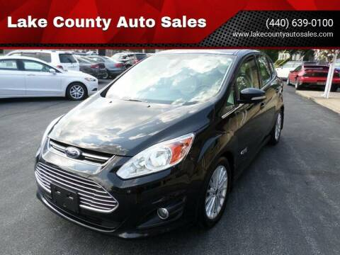 2015 Ford C-MAX Energi for sale at Lake County Auto Sales in Painesville OH