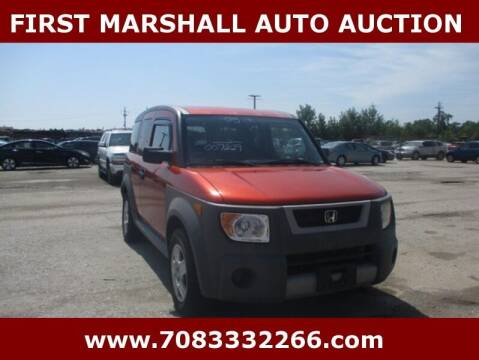2005 Honda Element for sale at First Marshall Auto Auction in Harvey IL