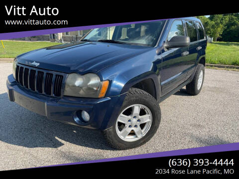 2005 Jeep Grand Cherokee for sale at Vitt Auto in Pacific MO