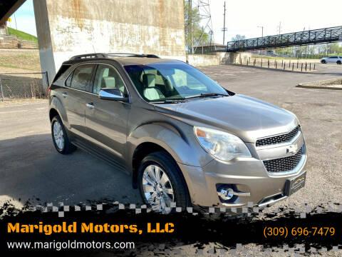 2010 Chevrolet Equinox for sale at Marigold Motors, LLC in Pekin IL