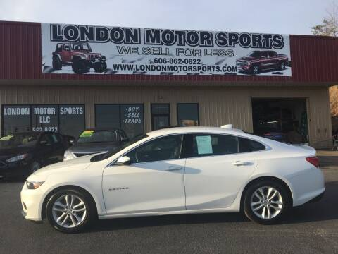2018 Chevrolet Malibu for sale at London Motor Sports, LLC in London KY