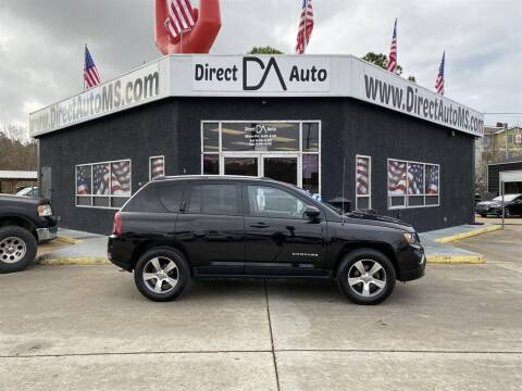 2016 Jeep Compass for sale at Direct Auto in D'Iberville MS