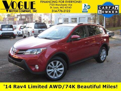 2014 Toyota RAV4 for sale at Vogue Motor Company Inc in Saint Louis MO