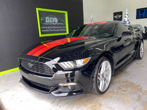 2017 Ford Mustang for sale at GCR MOTORSPORTS in Hollywood FL