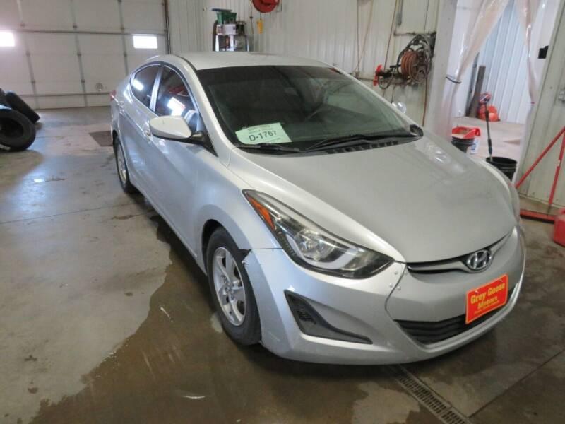 2015 Hyundai Elantra for sale at Grey Goose Motors in Pierre SD