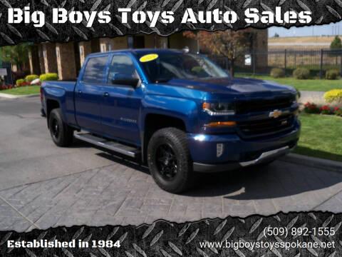2018 Chevrolet Silverado 1500 for sale at Big Boys Toys Auto Sales in Spokane Valley WA