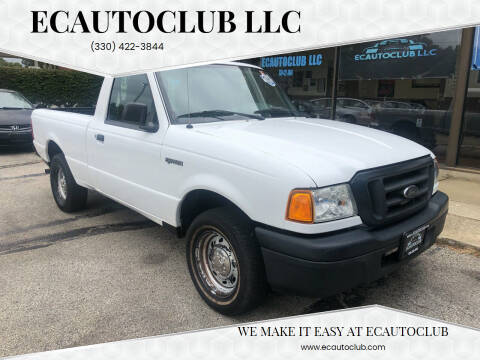 2004 Ford Ranger for sale at ECAUTOCLUB LLC in Kent OH