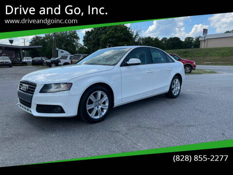2010 Audi A4 for sale at Drive and Go, Inc. in Hickory NC