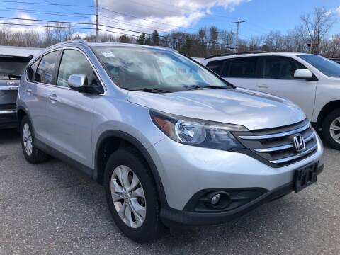 2014 Honda CR-V for sale at Top Line Import of Methuen in Methuen MA