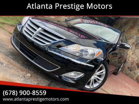 2012 Hyundai Genesis for sale at Atlanta Prestige Motors in Decatur GA