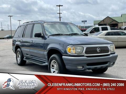 1998 Mercury Mountaineer for sale at Ole Ben Franklin Motors Clinton Highway in Knoxville TN
