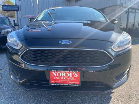 2015 Ford Focus for sale at Norm's Used Cars INC. in Wiscasset ME
