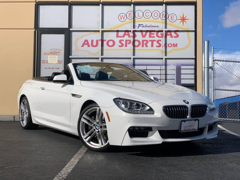 2013 BMW 6 Series for sale at Las Vegas Auto Sports in Las Vegas NV