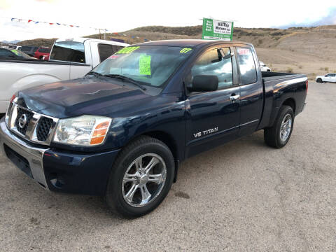 2007 Nissan Titan for sale at Hilltop Motors in Globe AZ