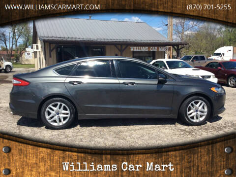 2015 Ford Fusion for sale at WILLIAMS CAR MART in Gassville AR