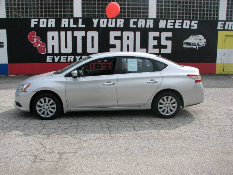 2014 Nissan Sentra for sale at C & G Auto Sales in Gary IN
