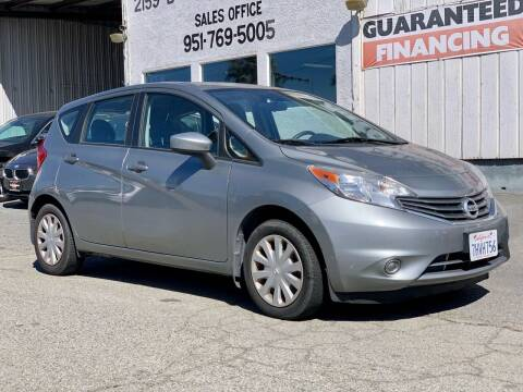 2015 Nissan Versa Note for sale at Auto Source in Banning CA