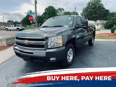 2011 Chevrolet Silverado 1500 for sale at Marti Motors Inc in Madison IL