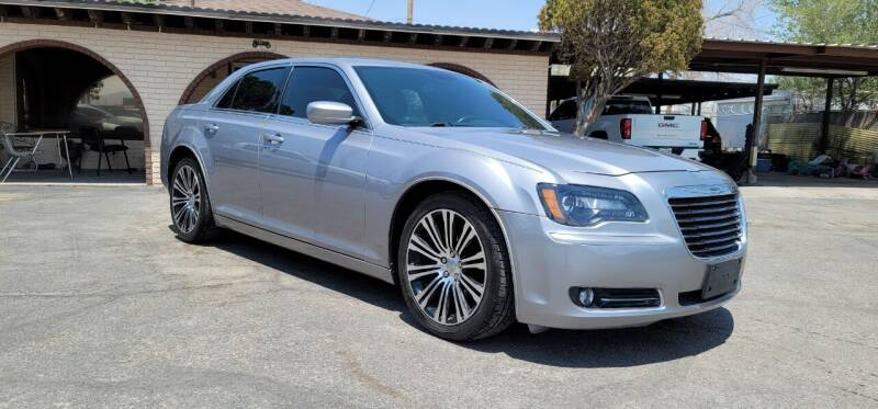 2014 Chrysler 300 for sale at FRANCIA MOTORS in El Paso TX