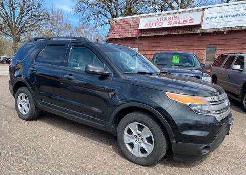 2014 Ford Explorer for sale at Sunrise Auto Sales in Stacy MN