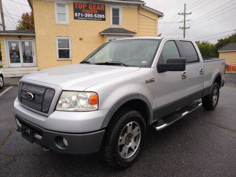 2008 Ford F-150 for sale at Top Gear Motors in Winchester VA