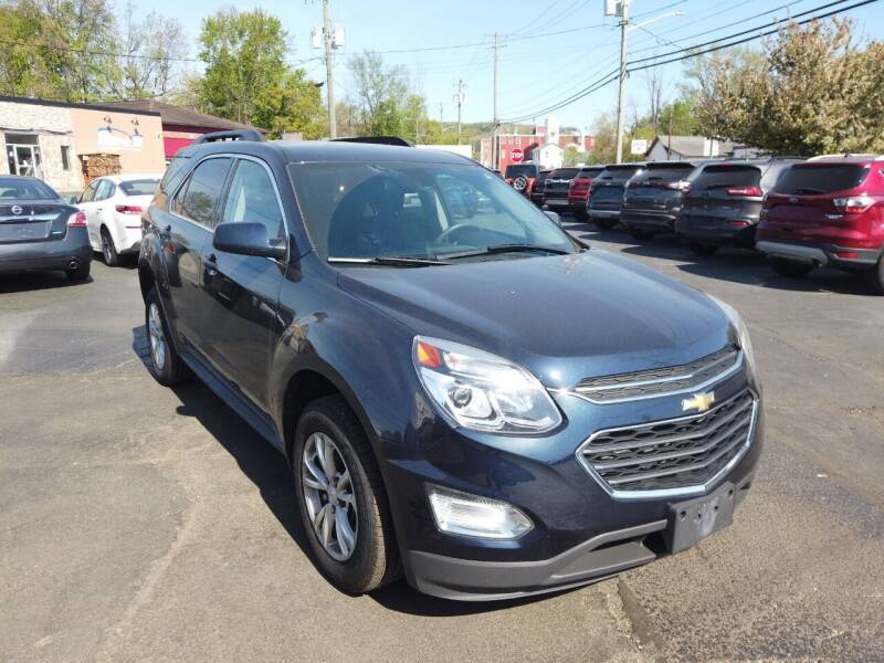 2016 Chevrolet Equinox for sale at RS Motors in Falconer NY