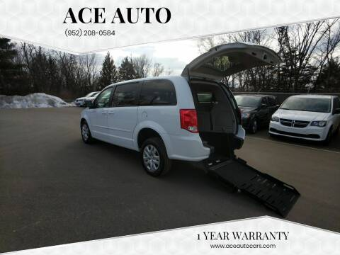 2017 Dodge Grand Caravan for sale at Ace Auto in Jordan MN