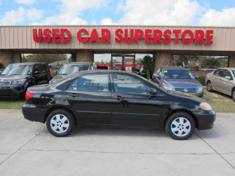 2008 Toyota Corolla for sale at Checkered Flag Auto Sales NORTH in Lakeland FL