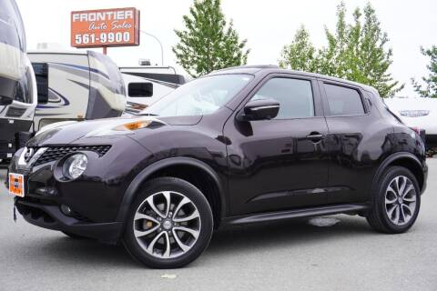 2017 Nissan JUKE for sale at Frontier Auto & RV Sales in Anchorage AK