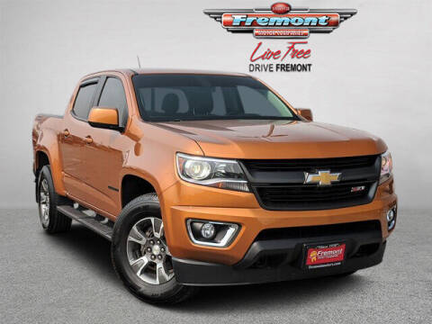 2017 Chevrolet Colorado for sale at Rocky Mountain Commercial Trucks in Casper WY