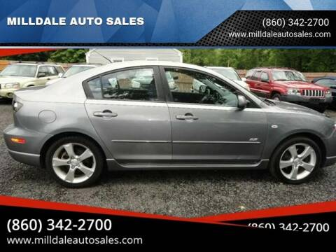 2005 Mazda MAZDA3 for sale at MILLDALE AUTO SALES in Portland CT
