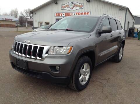 2012 Jeep Grand Cherokee for sale at Steves Auto Sales in Cambridge MN