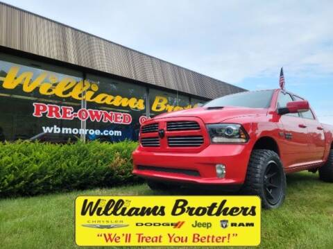 2017 RAM Ram Pickup 1500 for sale at Williams Brothers - Pre-Owned Monroe in Monroe MI