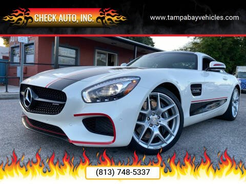 2017 Mercedes-Benz AMG GT for sale at CHECK AUTO, INC. in Tampa FL