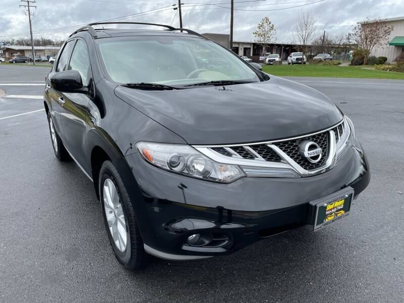 2012 Nissan Murano for sale at Shell Motors in Chantilly VA