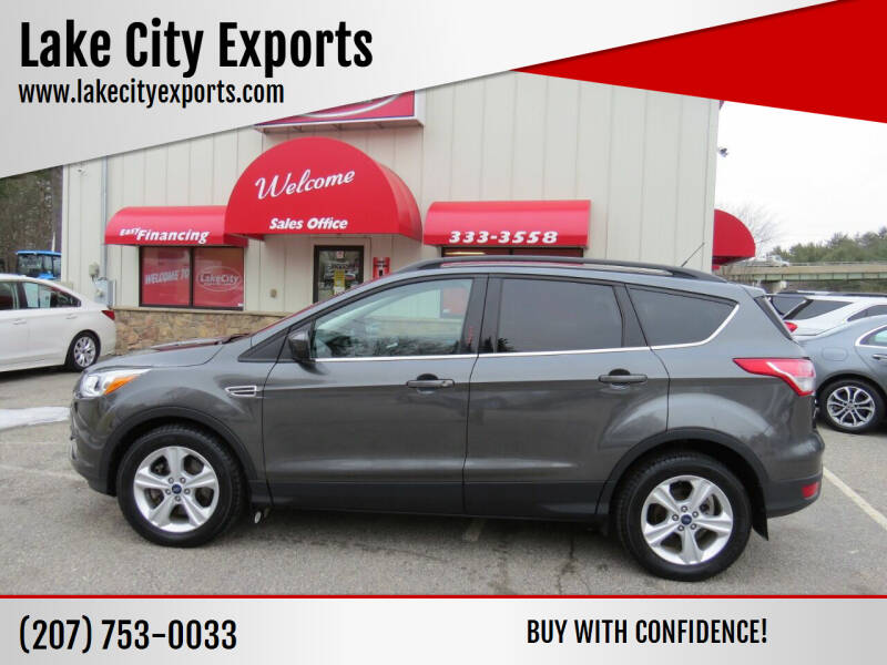 2016 Ford Escape for sale at Lake City Exports - Lewiston in Lewiston ME