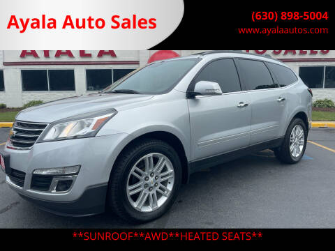 2014 Chevrolet Traverse for sale at Ayala Auto Sales in Aurora IL