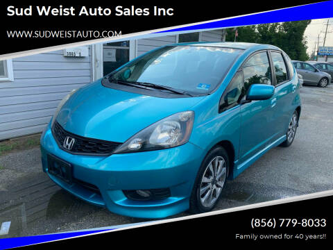 2013 Honda Fit for sale at Sud Weist Auto Sales Inc in Maple Shade NJ