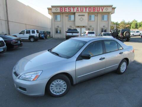 2006 Honda Accord for sale at Best Auto Buy in Las Vegas NV